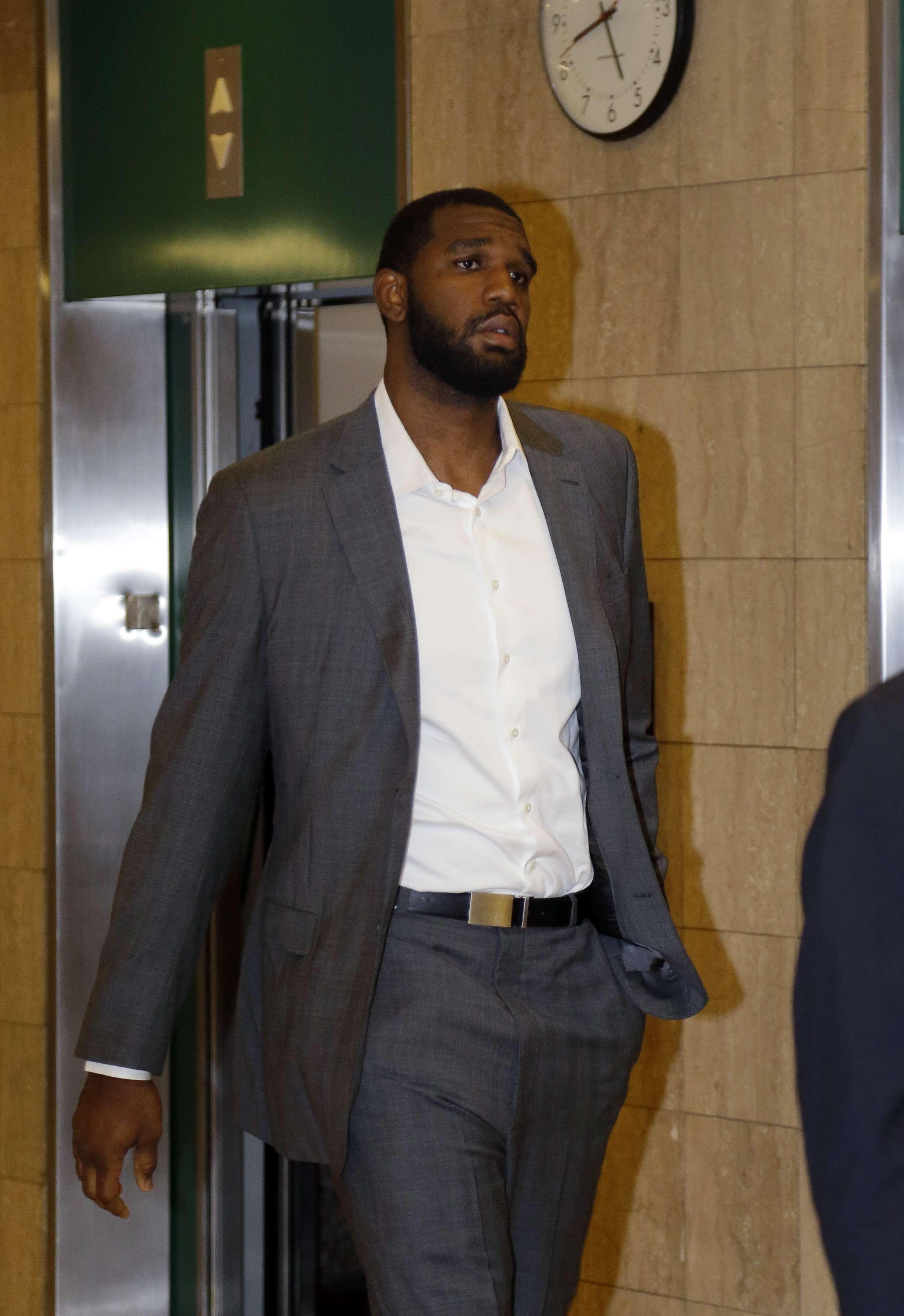 El pívot, que no tiene equipo, compareció el miércoles ante un juez del condado de Marion. Foto: AP