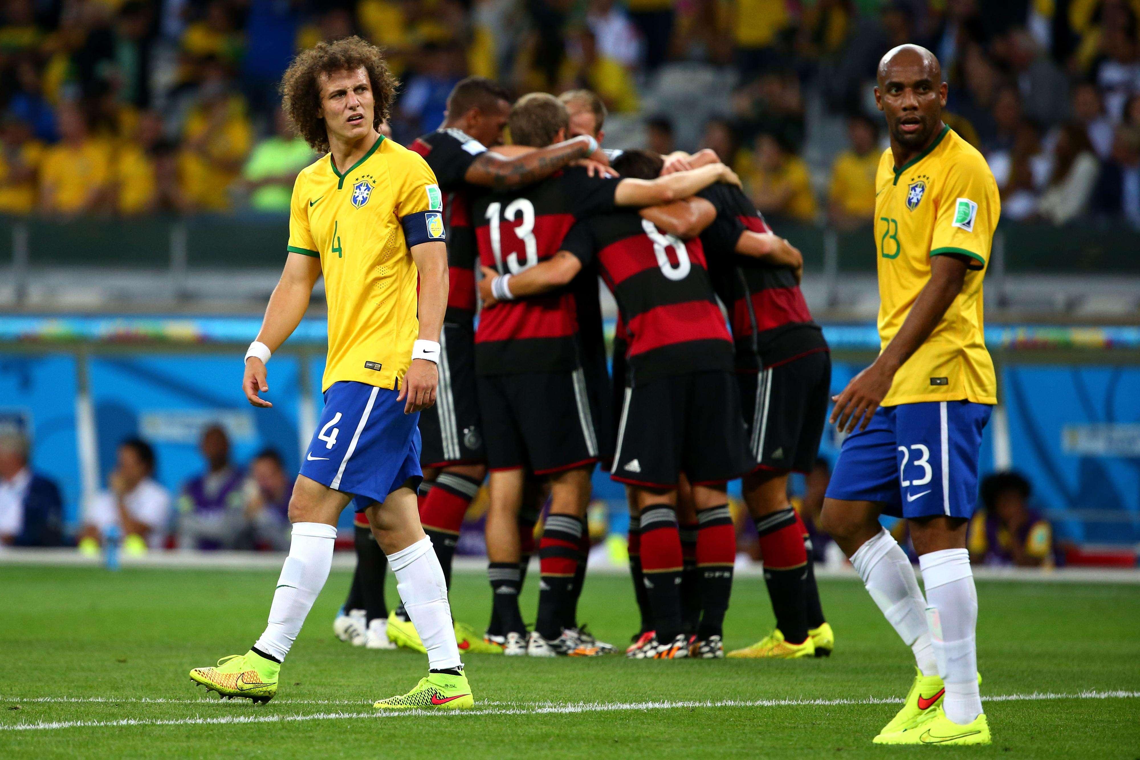 Copa de 2014 terminou com vexame imenso: goleada história por 7 a 1 para a Alemanha Foto: Robert Cianflone/Getty Images