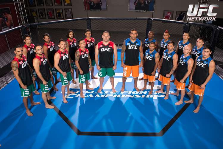 Podrás conocer a los integrantes del Team Velásquez y el Team Werdum. Foto: UFC