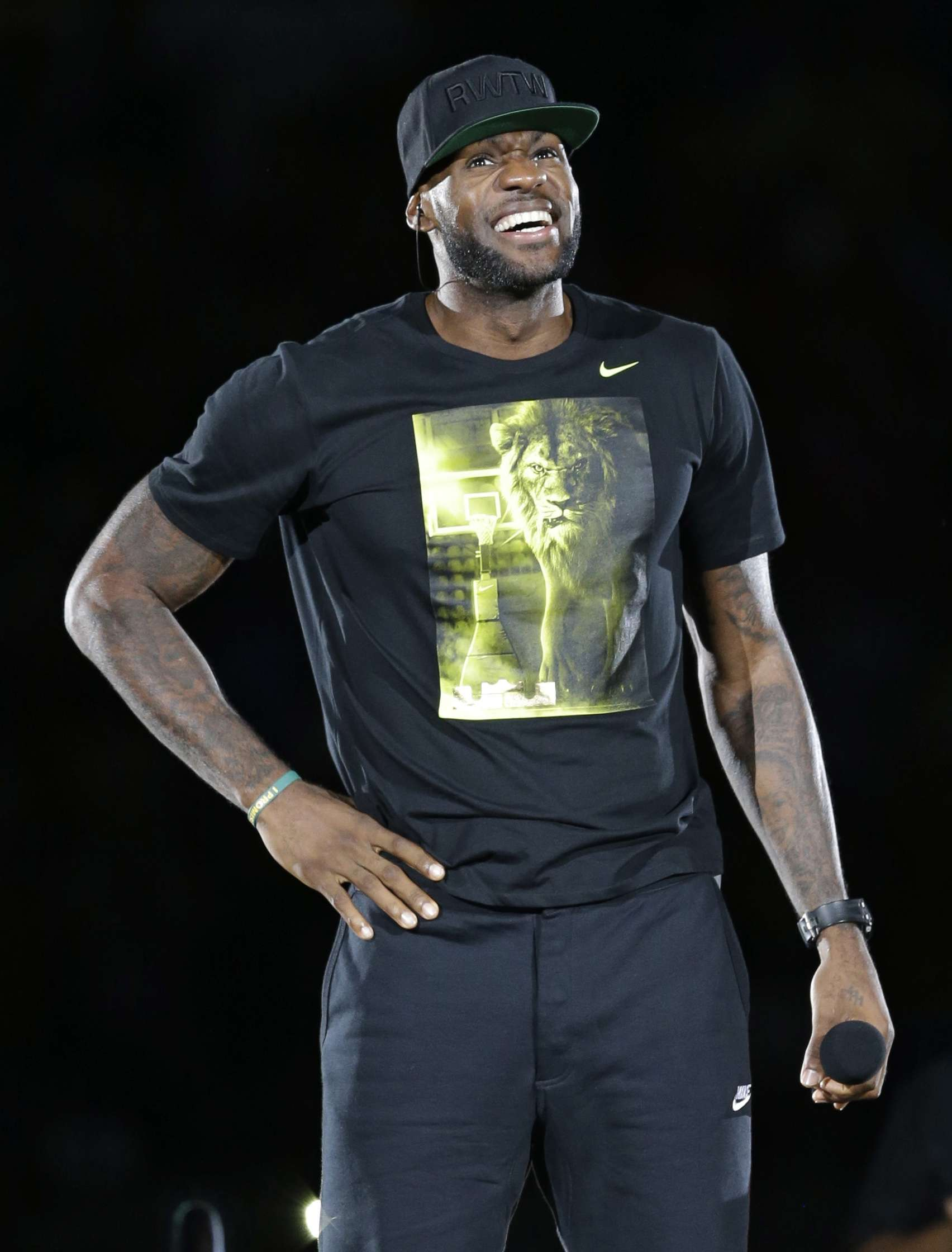 Lebron James. Foto: AP