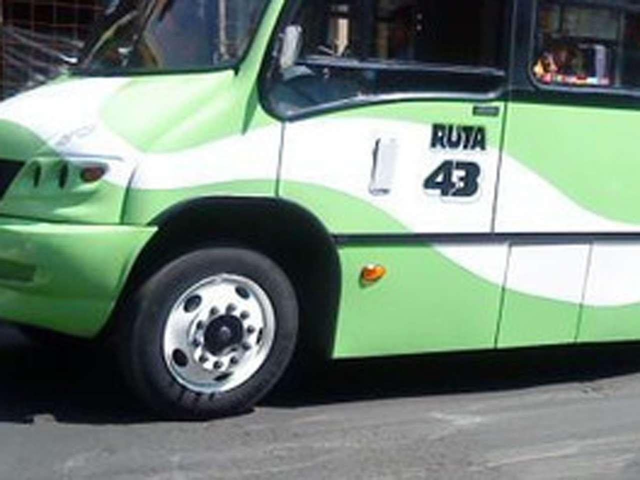 Dos sujetos intentaron asaltar a los pasajeros de un camión de la Ruta 43, en Álvaro Obregón. Foto: Archivo/Terra