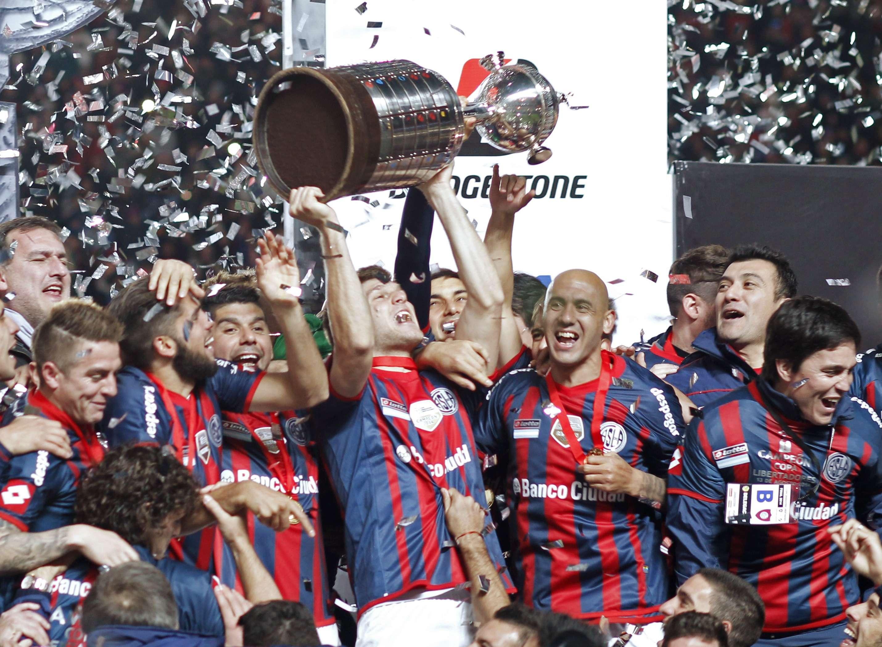 San Lorenzo conquistou Libertadores pela primeira vez na história do clube Foto: Martin Acosta/Reuters