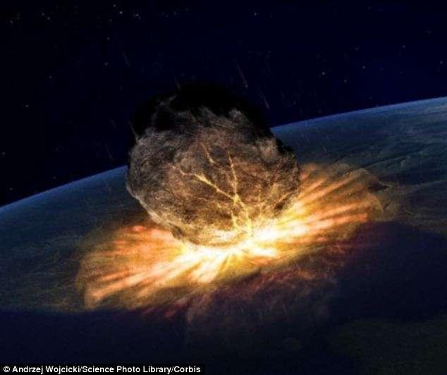 O asteroide foi visto pela primeira vez ainda na década de 1950, sendo nomeado 1950 DA Foto: Daily Mail/Reprodução