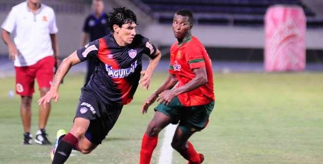 Roberto Ovelar, delantero del Junior de Barranquilla Foto: Cortesía El Heraldo, Giovanni Escudero