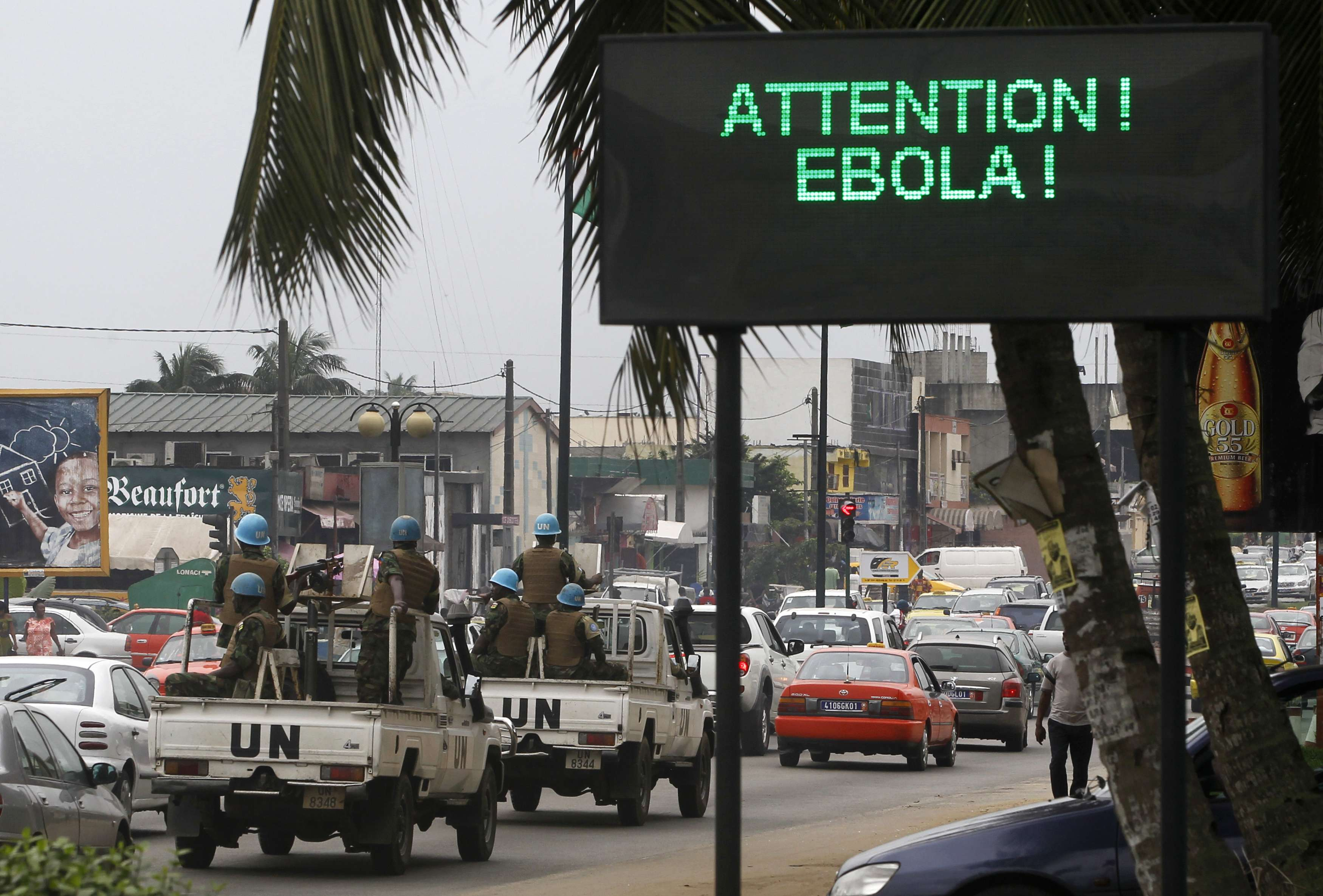 El miedo al ébola aisla y perjudica a los países afectados