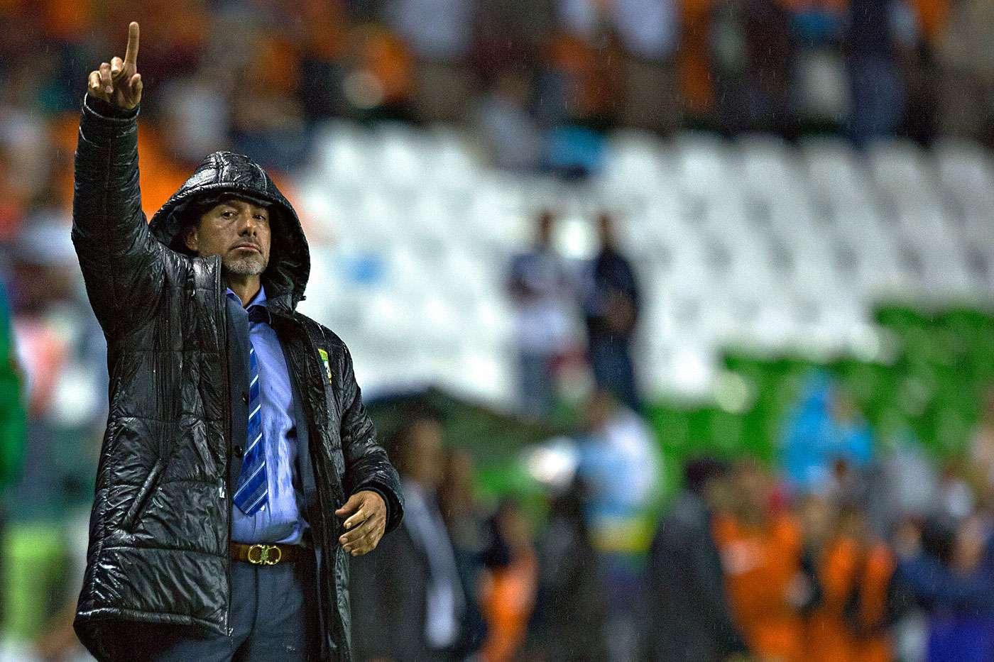 Gustavo Matosas, técnico uruguayo del León. Foto: Sergio Mejía/Imago7