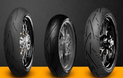 Continental convoca recall de pneus de motocicletas