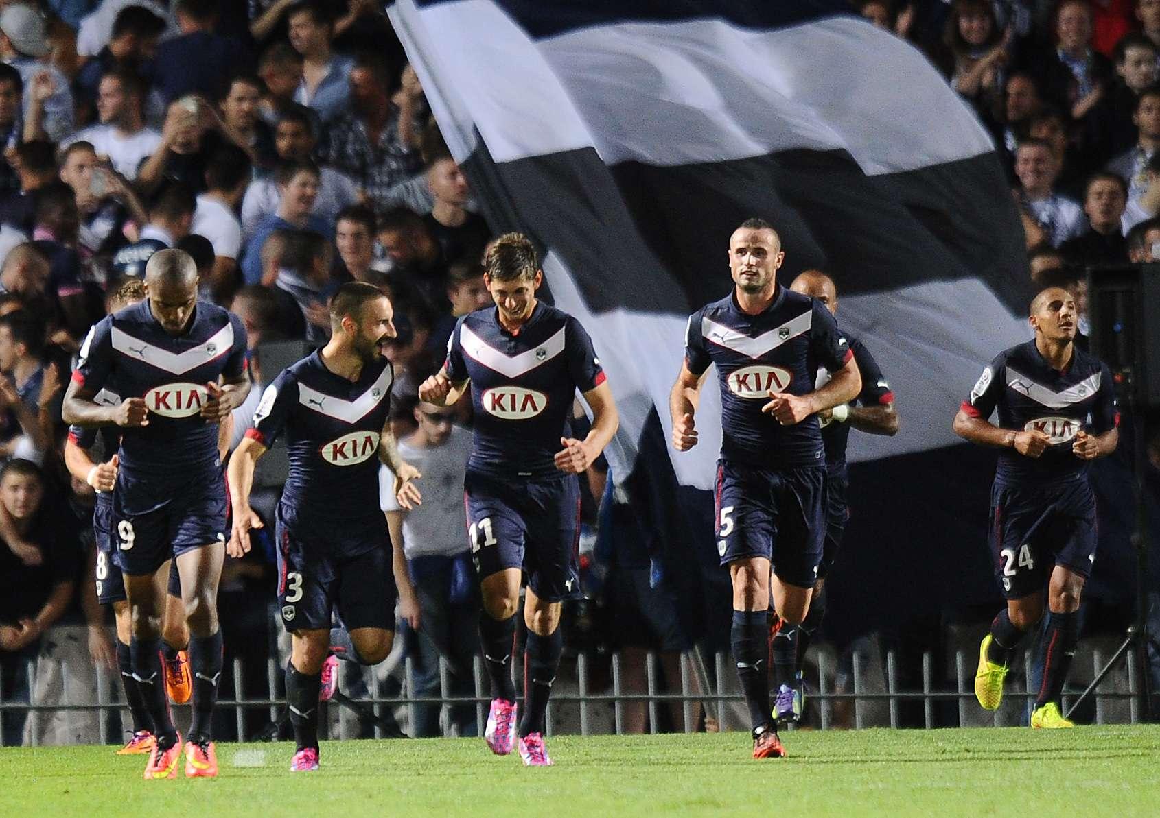 Burdeos golea 4-1 al Mónaco y se coloca líder en Francia