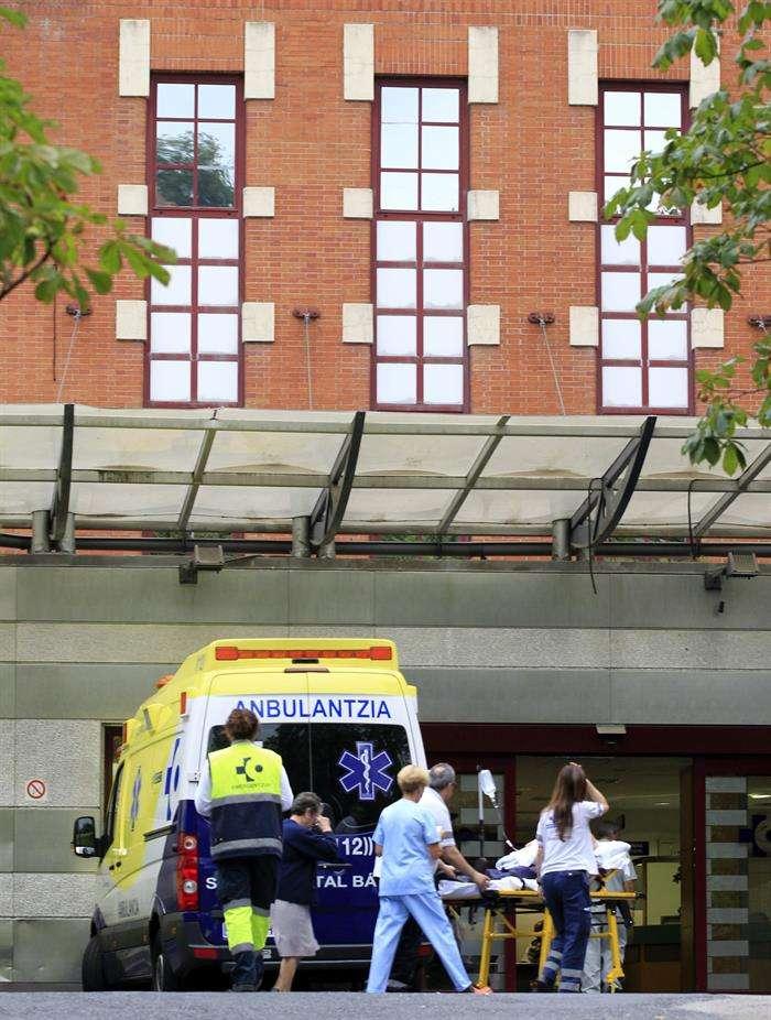 Vista de las urgencias del Hospital Universitario de Basurto, en Bilbao. Foto: EFE en español
