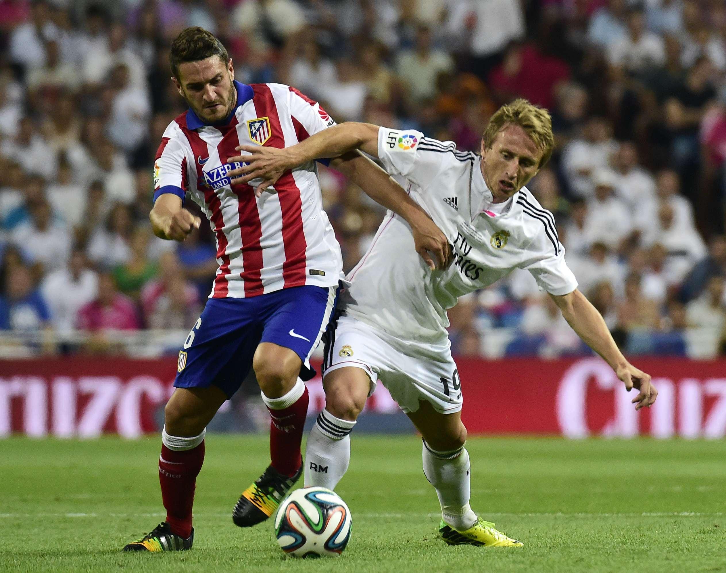 Real Madrid y Atlético empatan en ida de Supercopa española