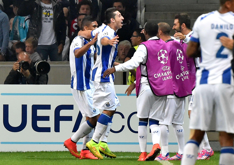 Porto y Zenit encarrilan su clasificación a la Champions