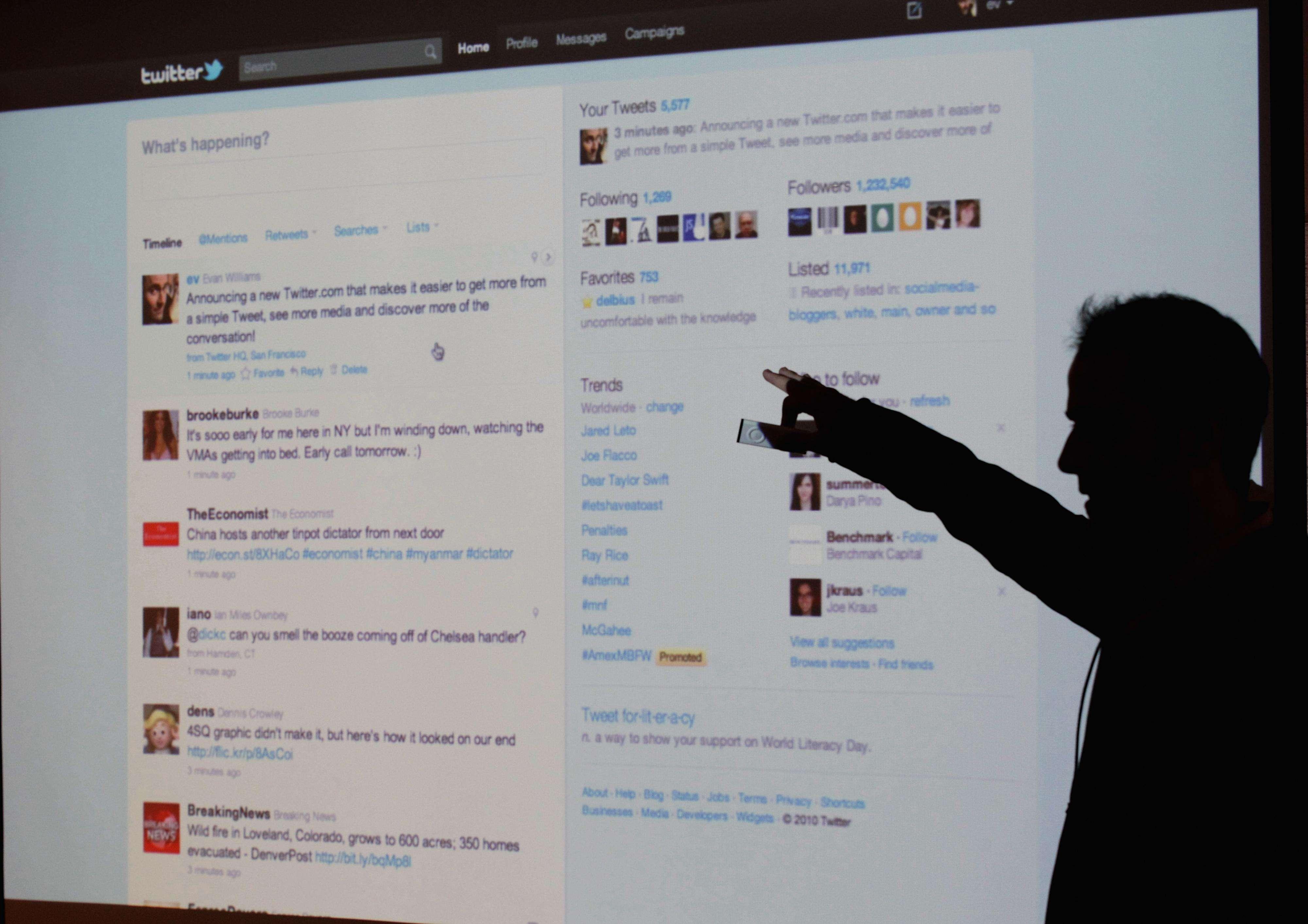Twitter te mostará 'tuits' de cuentas a las que no sigues