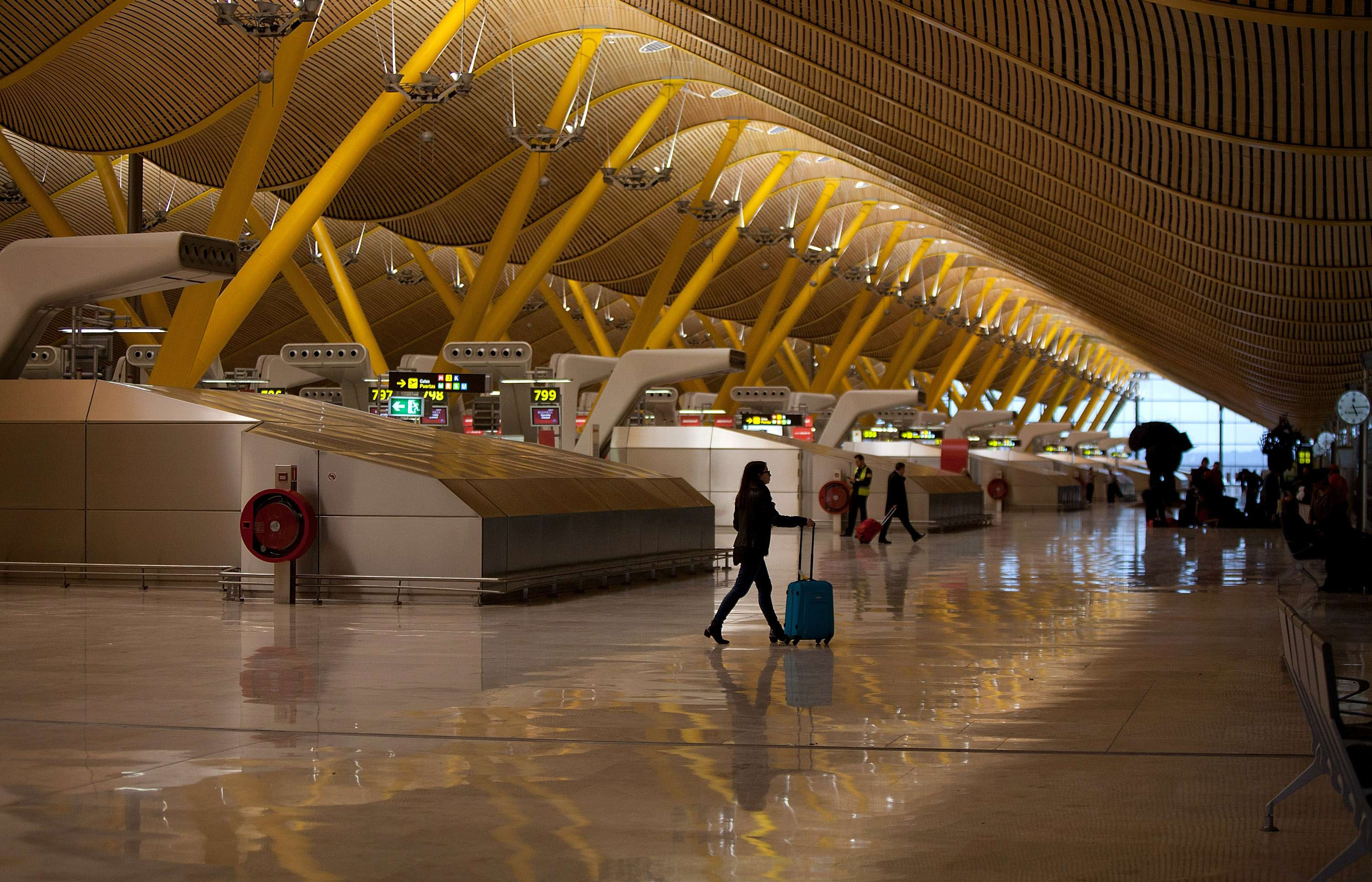 Aeropuerto de Barajas. Foto: Getty Images