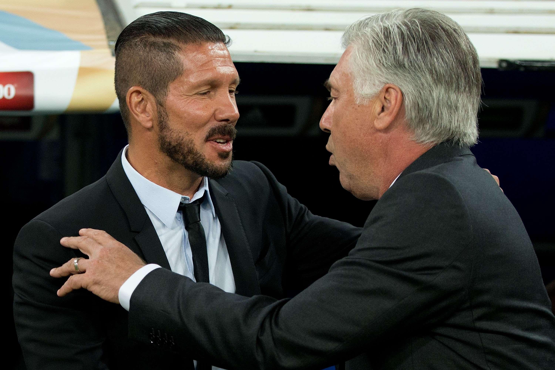 Cruce de declaraciones entre Simeone y Ancelotti