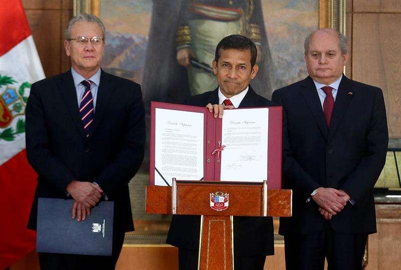 EFE / Presidencia del Perú