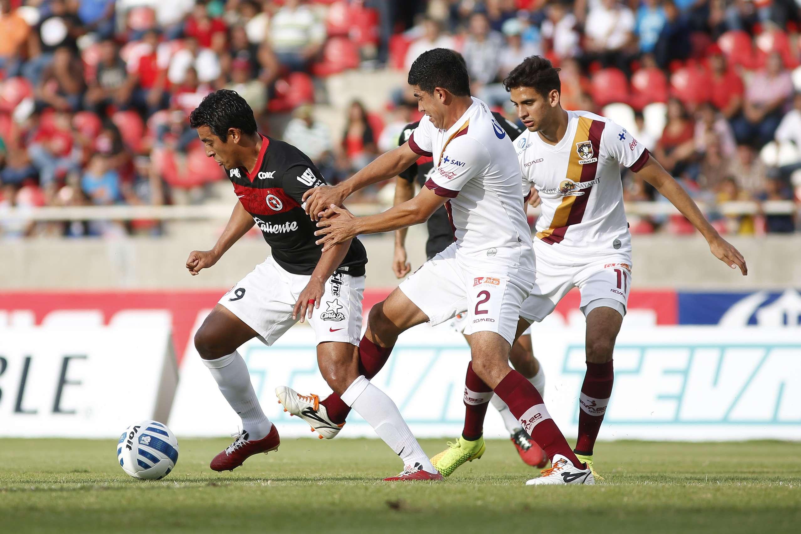 Xolos y Coras no se hacen daño en la Copa MX y empatan 0-0. Foto: Imago