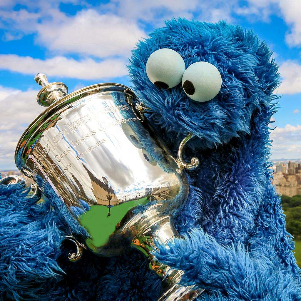 Twitter US Open Trophies
