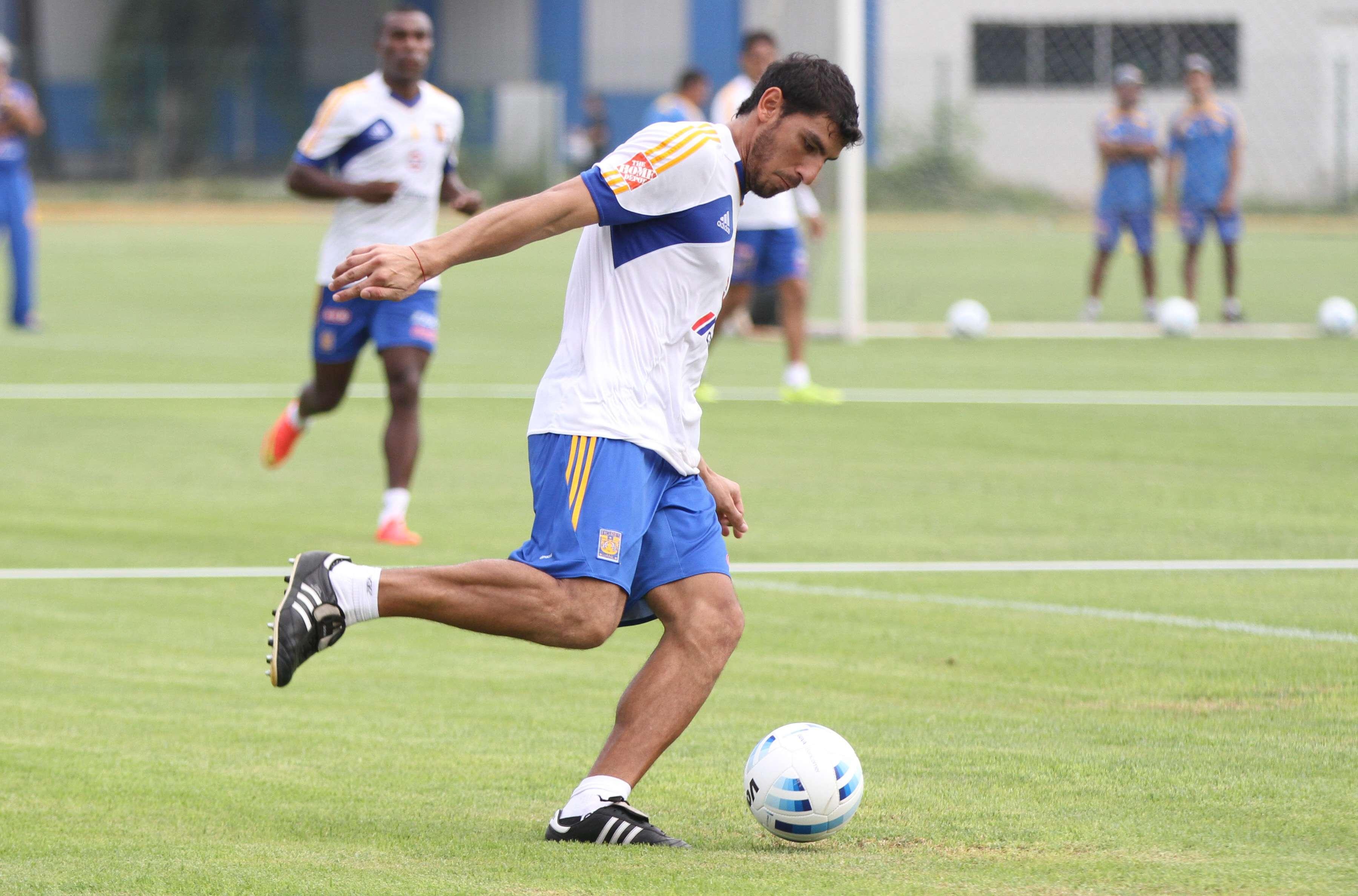El portero argentino Nahuel Guzmán, en un entrenamiento de Tigres. Foto: Imago7