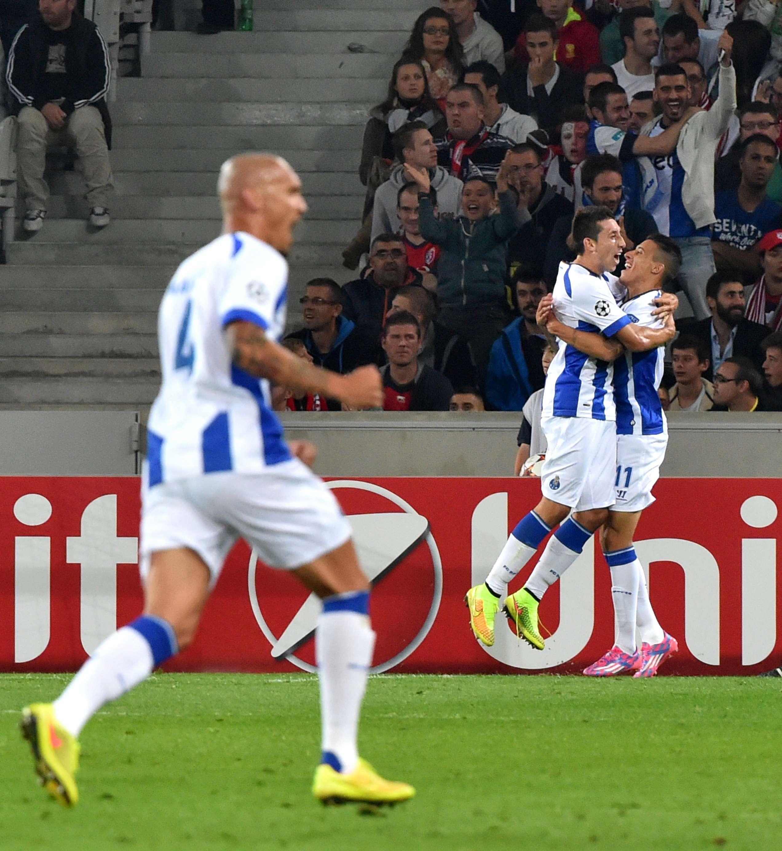 Champions: Porto supera Lille e define vaga em casa