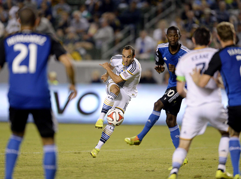 Gol de Donovan eleva al Galaxy sobre Rapids