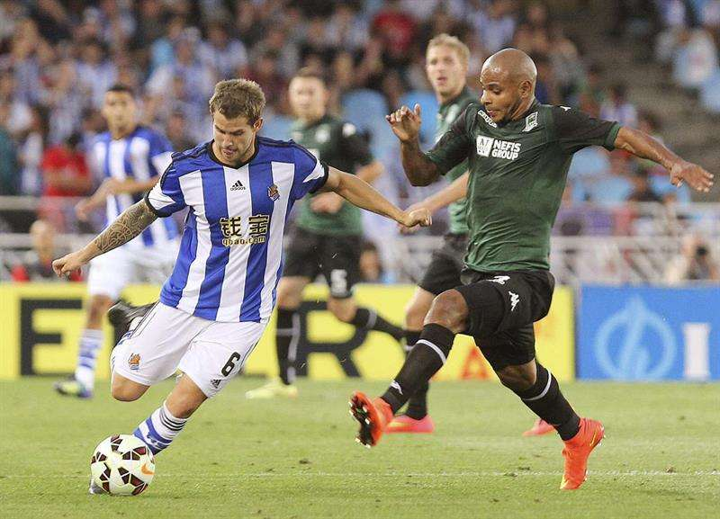Real Sociedad eliminated from Europa League by Krasnodar