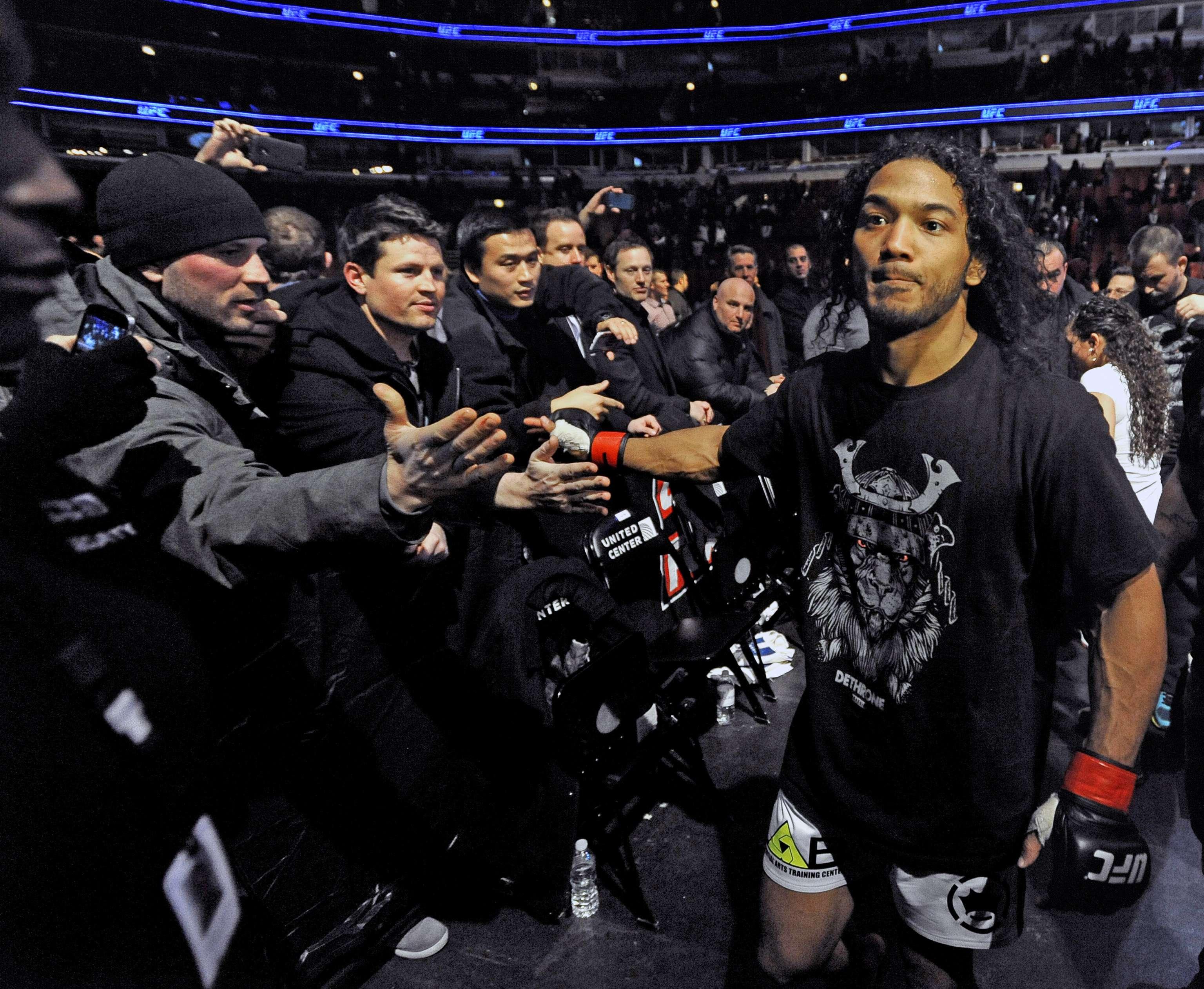 Henderson busca una pelea con el campeón Pettis. Foto: AP