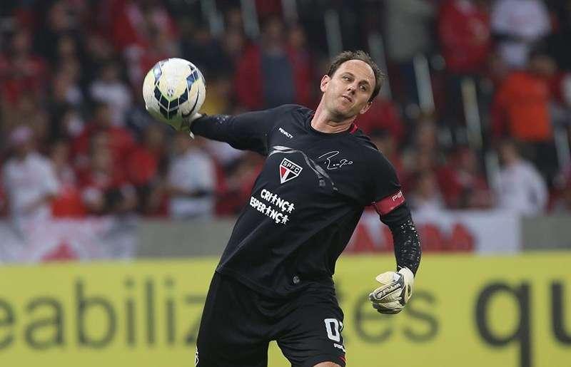 Ceni vive últimos meses no gol do São Paulo Foto: Rubens Chiri / São Paulo FC/Divulgação