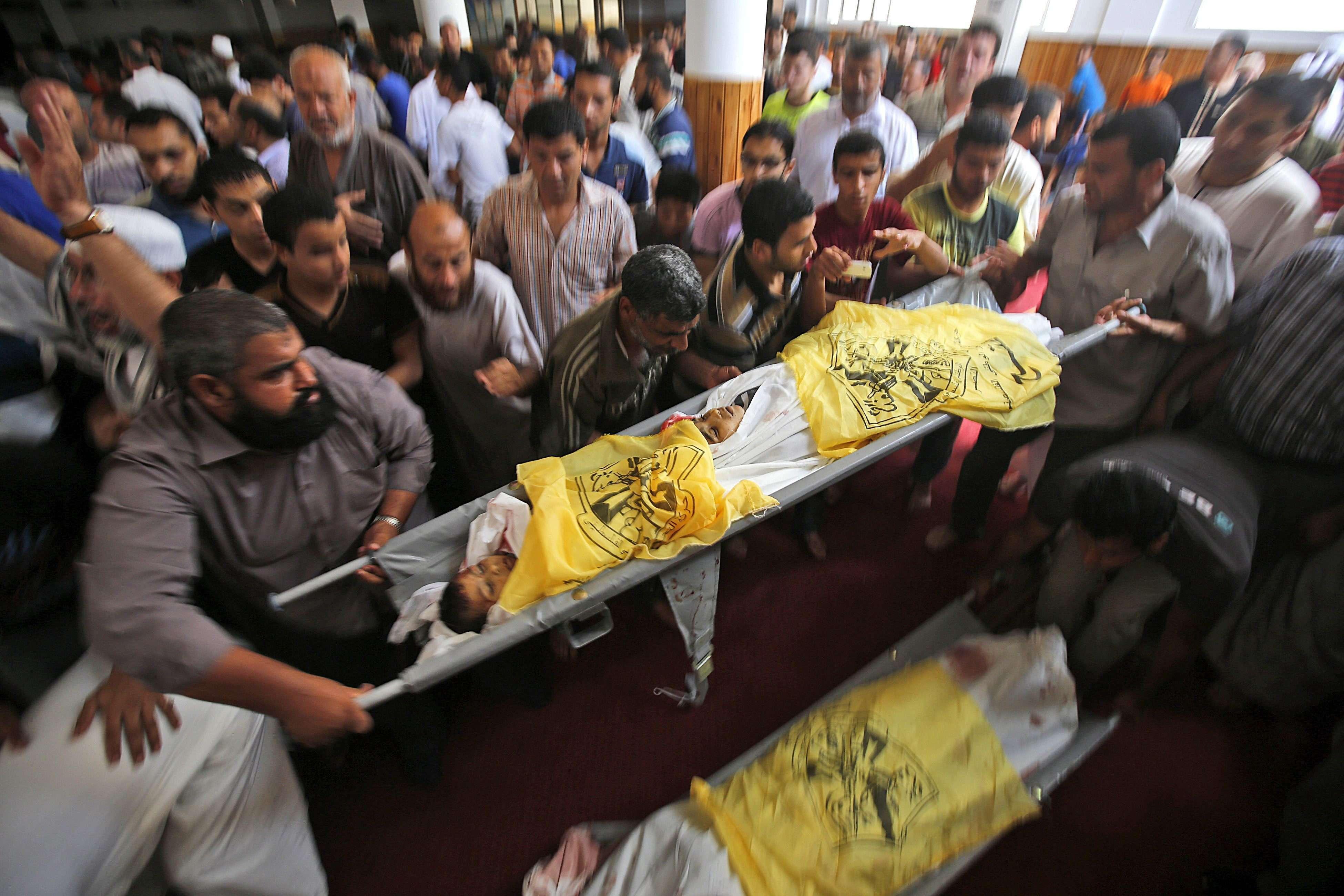 Unicef reporta 469 niños muertos por ataque israelí en Gaza