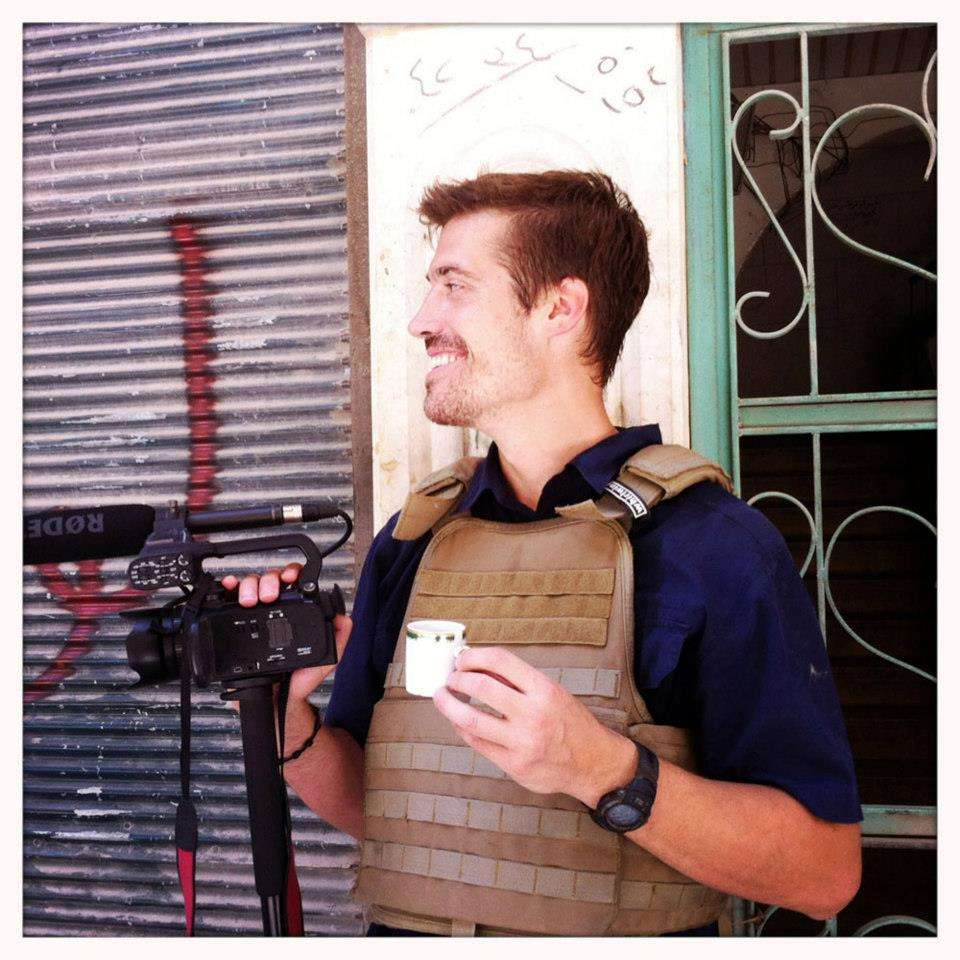 Facebook/Find James Foley