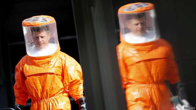 Surto de Ebola pode afetar até 20 mil pessoas, diz OMS