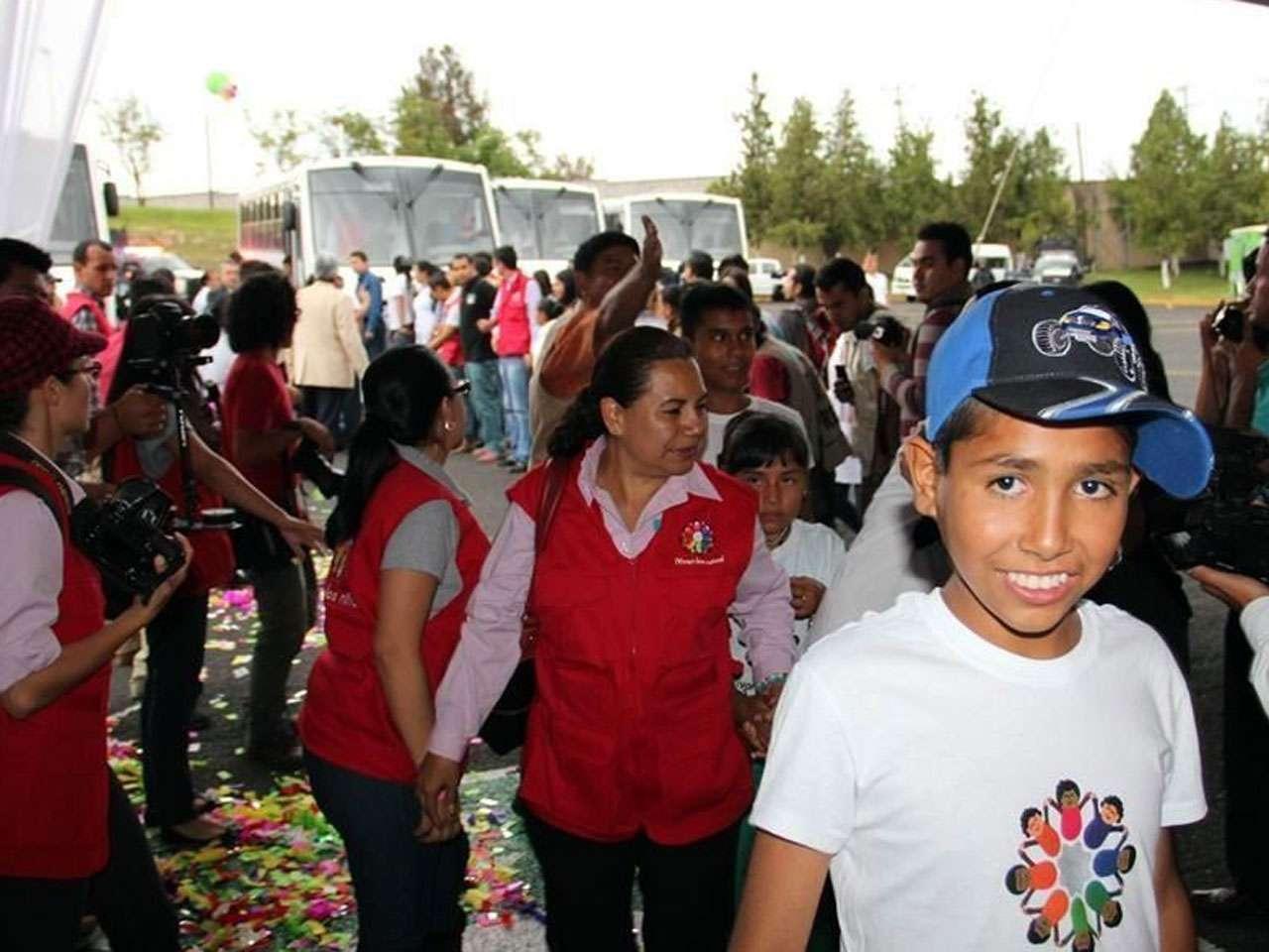 El Centro de Salud Mental de Morelia fue habilitado como casa hogar, a donde llegaron 86 niños de Mamá Rosa Foto: Archivo/Reforma