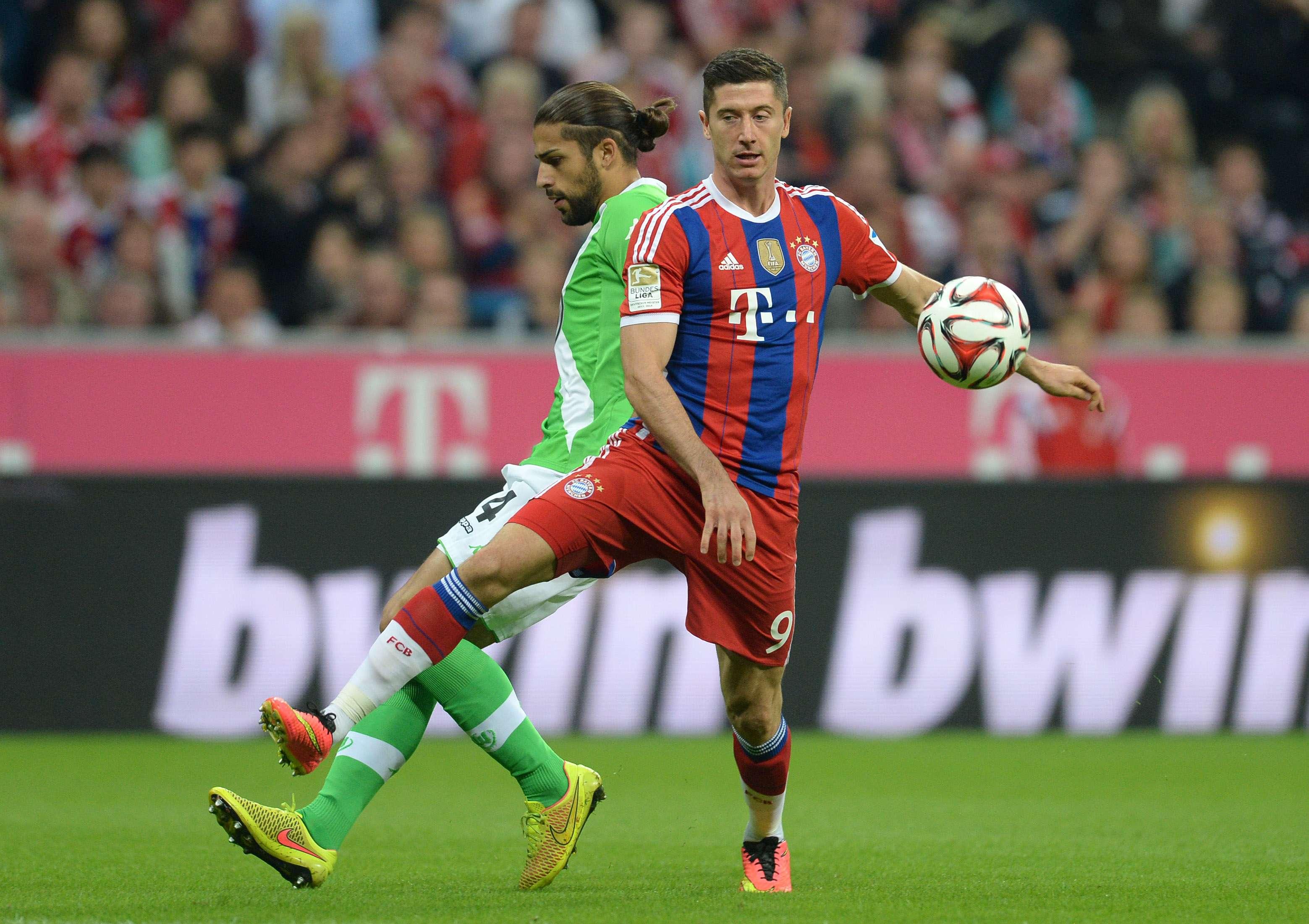 El triunfo del Bayern ante el Wolfsburgo en imágenes