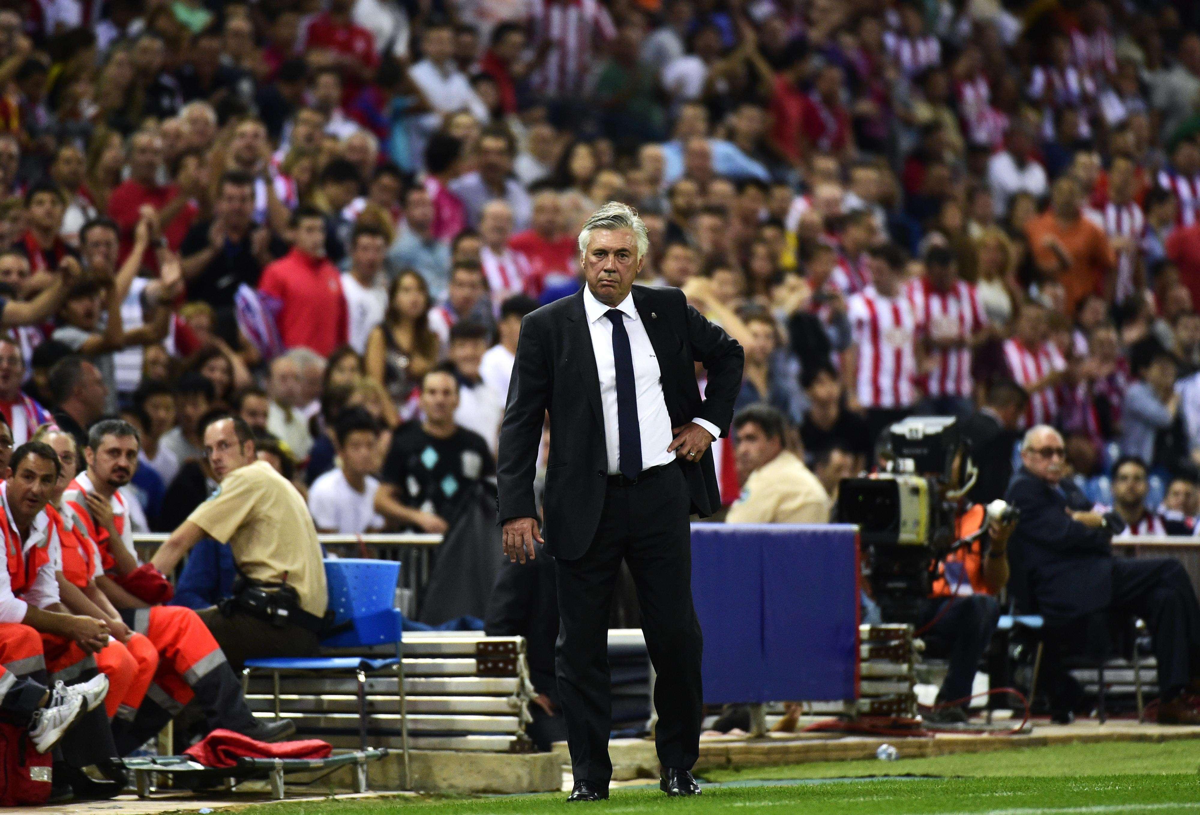 """Ancelotti: """"Hoy no necesitaba a Di María"""""""