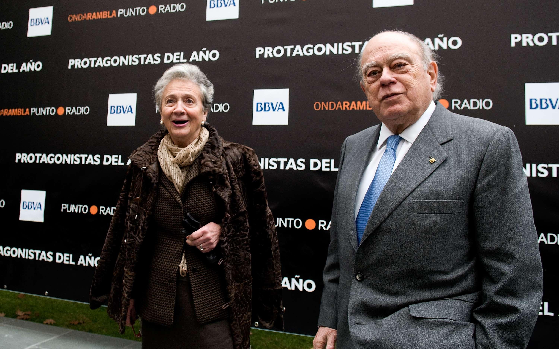 Marta Ferrusola y Jordi Pujol. Foto: Getty Images