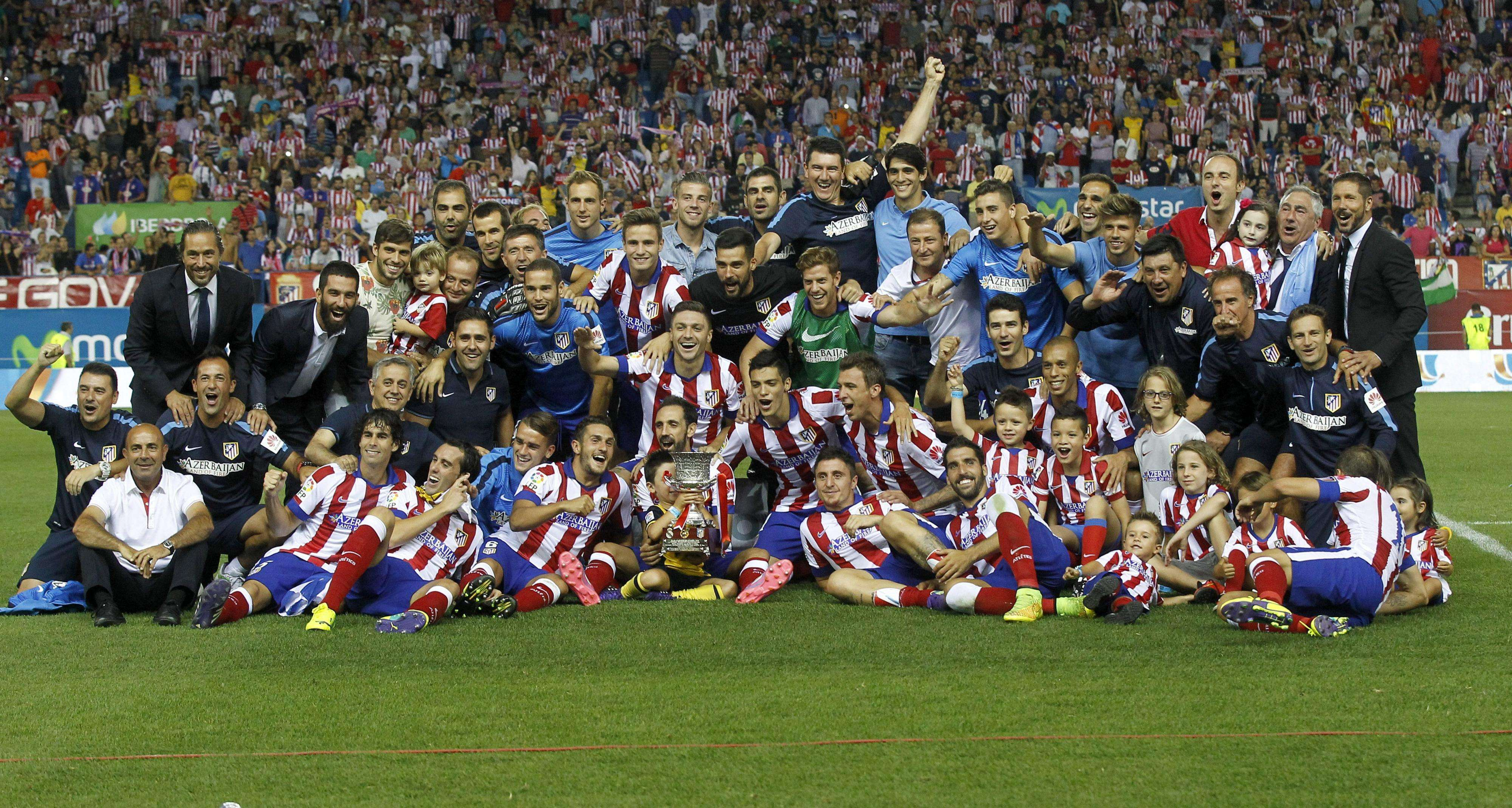 Atlético neutraliza al Real Madrid y se lleva la Supercopa
