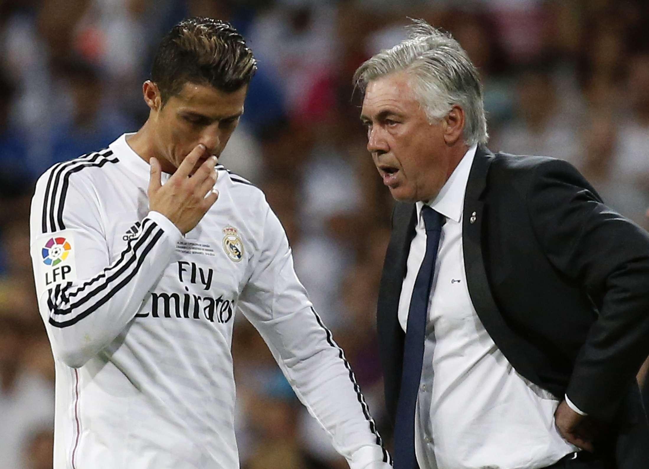 Cristiano Ronaldo entrou no segundo tempo, mas pouco criou para o Real Madrid Foto: Juan Medina/Reuters