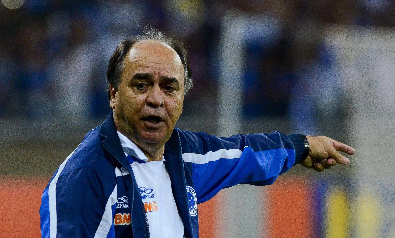 Marcelo Oliveira comanda Cruzeiro no Mineirão Foto: Washington Alves/Getty Images
