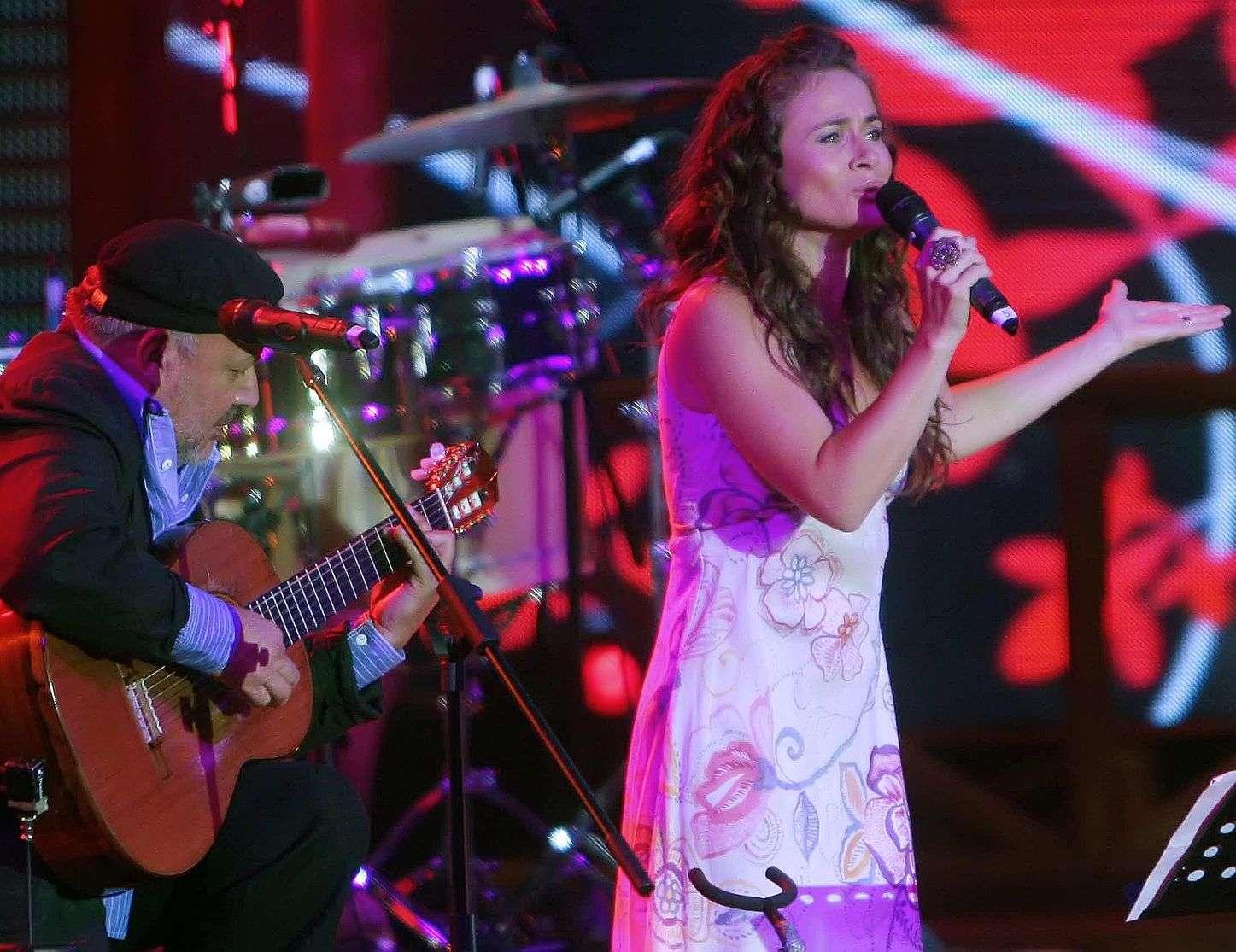"""En 2012 Amaya Forch lanzó """"La consentida"""", disco con un estilo folklórico. Foto: UPI"""