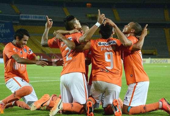 César Vallejo venció 2-1 a Millonarios en la Copa Sudamericana. Foto: AFP