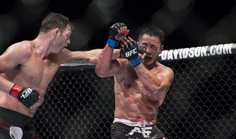 Sangrienta pelea entre Michael Bisping y Cung Le Foto: Getty Images