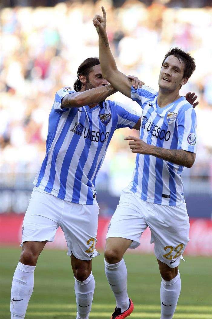 Luis Alberto celebra su gol al Athletic Foto: EFE en español