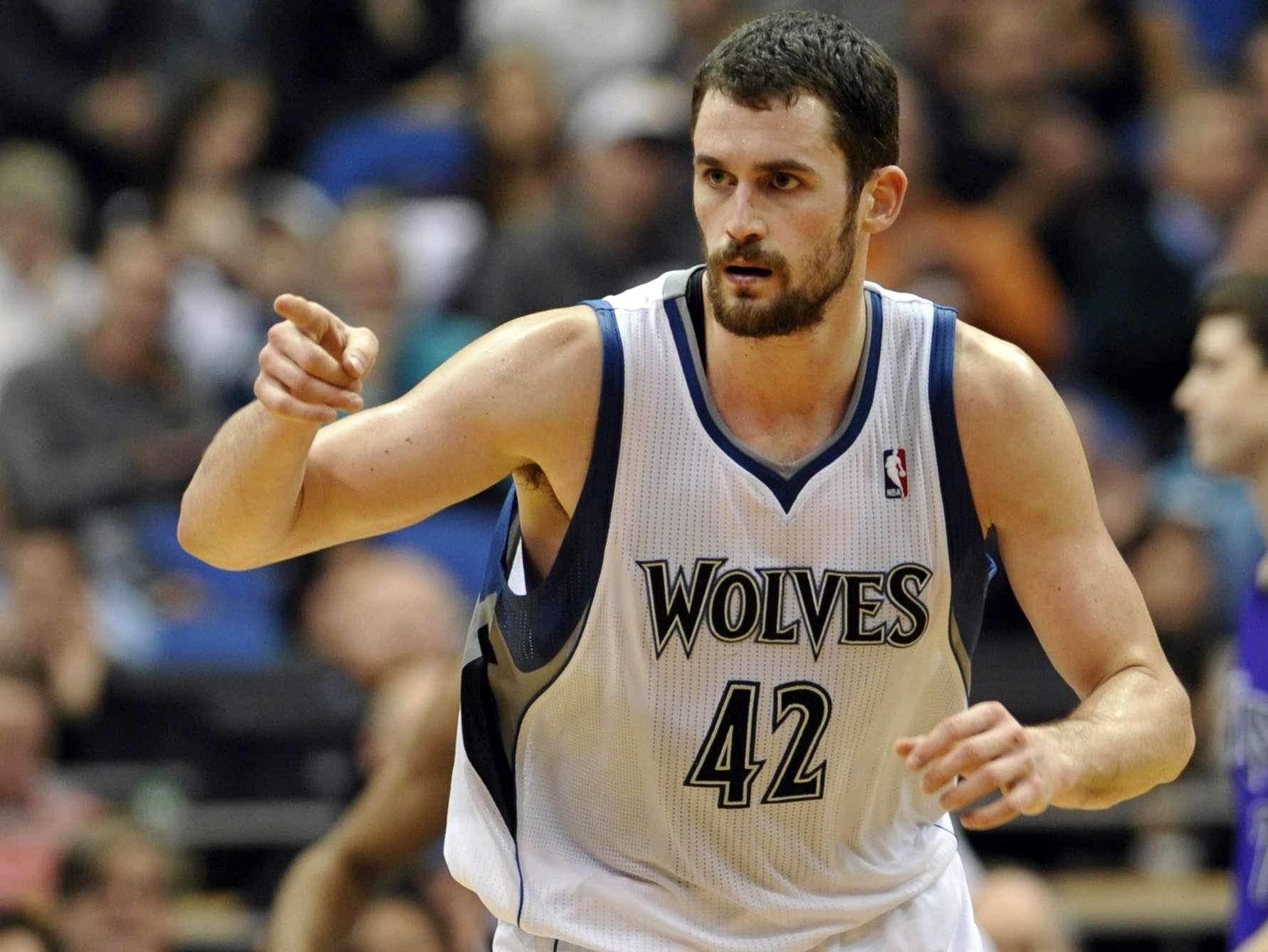 Kevin Love sobresalió con los T-Wolves. Foto: AP