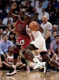 Rice enfrentó en varias ocasiones a Jordan. Foto: Archivo