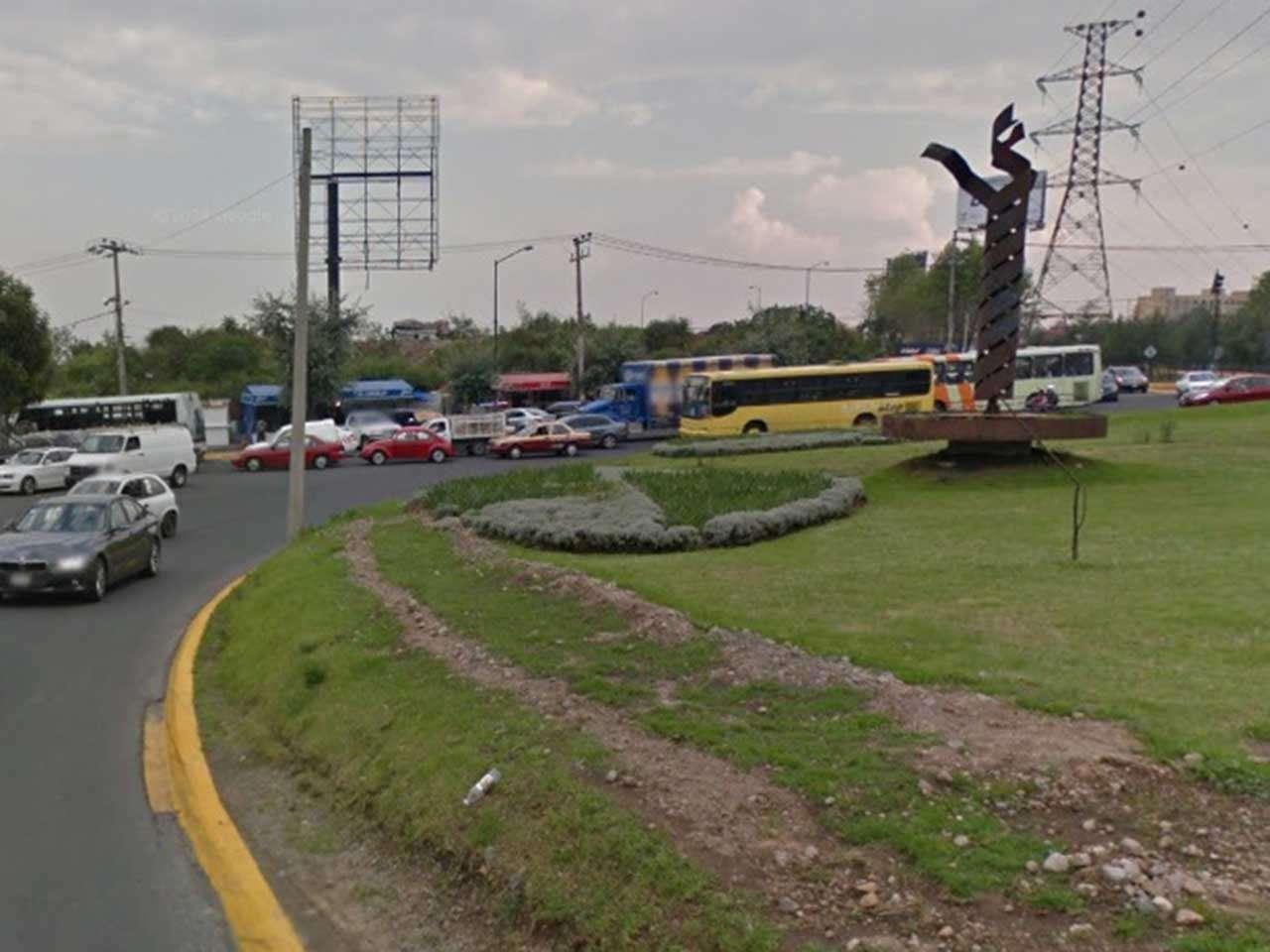 El líder vecinal Édgar Mendoza dijo que aún no determinan si en el acto de protesta bloquearán la circulación vehicular en la glorieta de Vasco de Quiroga. Foto: Google Maps