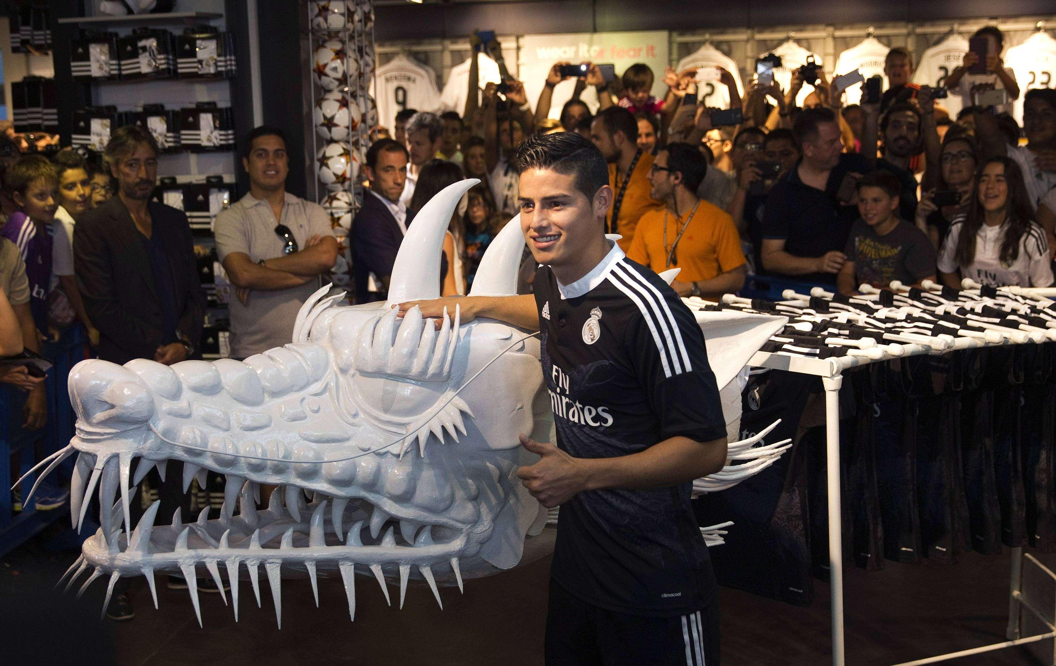 """James Rodríguez: """"El Real Madrid es un club de otro mundo"""""""