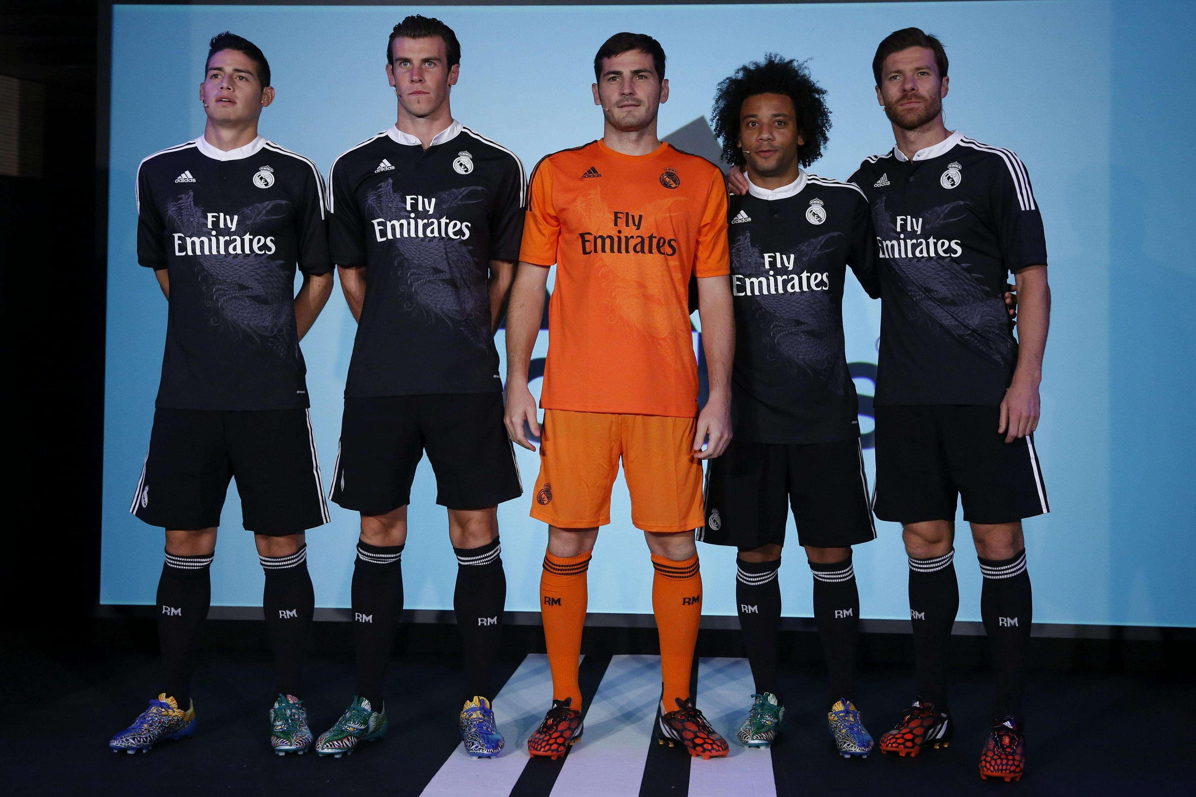 Real Madrid presenta tercer uniforme con motivos orientales