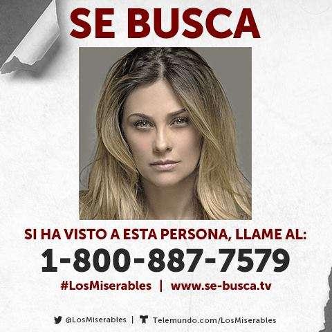 Aracely Arámbula en 'Los Miserables' Foto: Telemundo