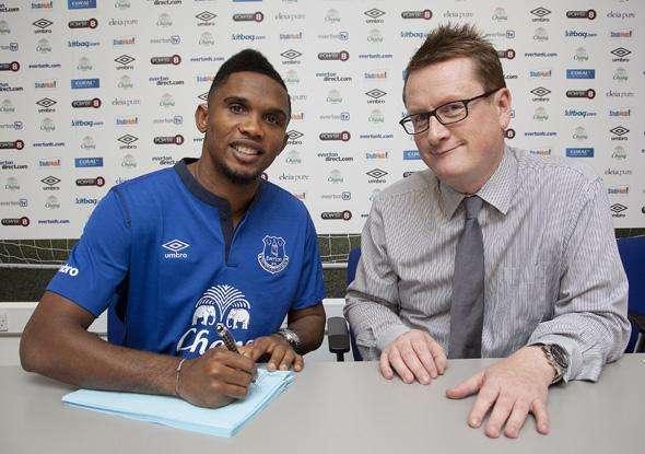 Twitter @Everton