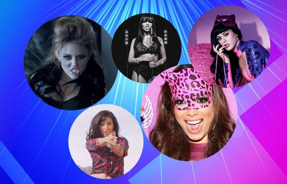 """Tente descobrir quem foram as """"inspirações"""" de Anitta em..."""