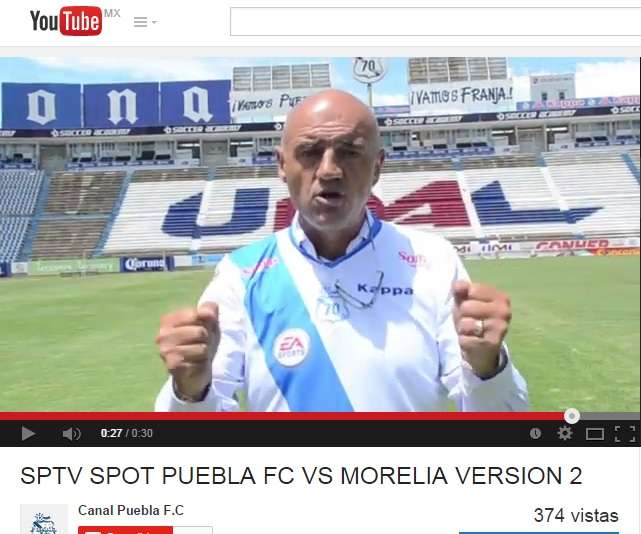 Youtube Puebla